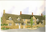 New build cottages
